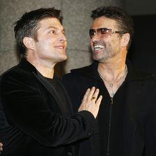 George Michael und Kenny Goss