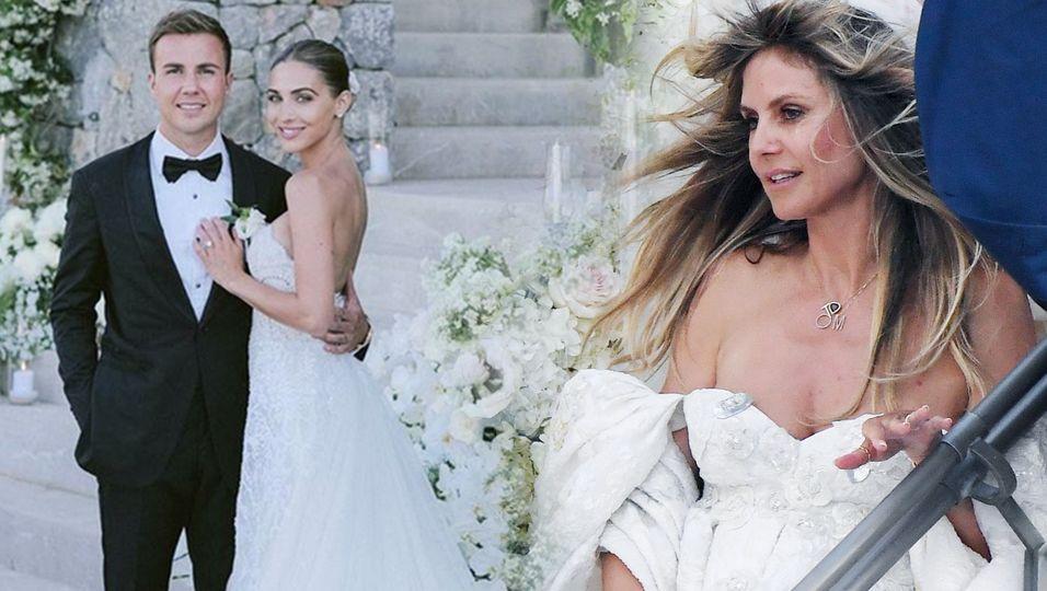 """Heidi Klum, Ellie Goulding & Co. – Diese Stars haben """"Ja"""" gesagt"""