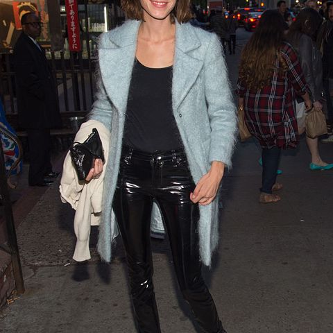 Alexa Chung Fashion Tricks