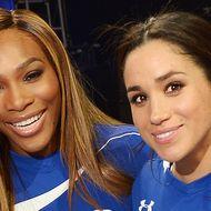 Meghan Markle und Serena Williams