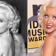 Stars wie Hollywoodlegenden, Mae West, Christina Aguilera
