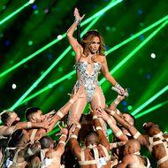 Jennifer Lopez beim Super Bowl