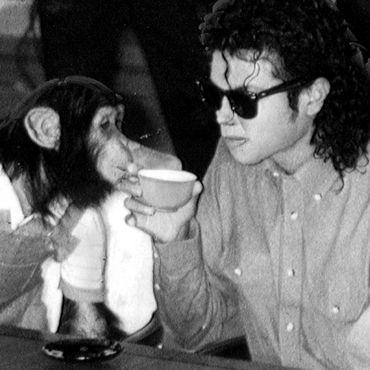 Michael Jackson und Bubbles