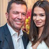 Lothar Matthäus und seine Frau Anastasia