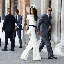 Amal Alamuddin und George Clooney