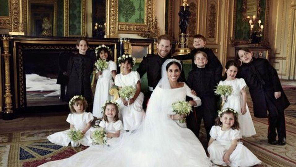 Harry und Meghan: Das macht die offiziellen Hochzeitsfotos besonders