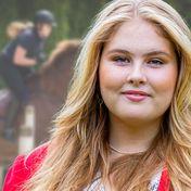 Amalia der Niederlande: Hoch zu Ross & mit wehender Mähne! Diese Aufnahmen begeistern