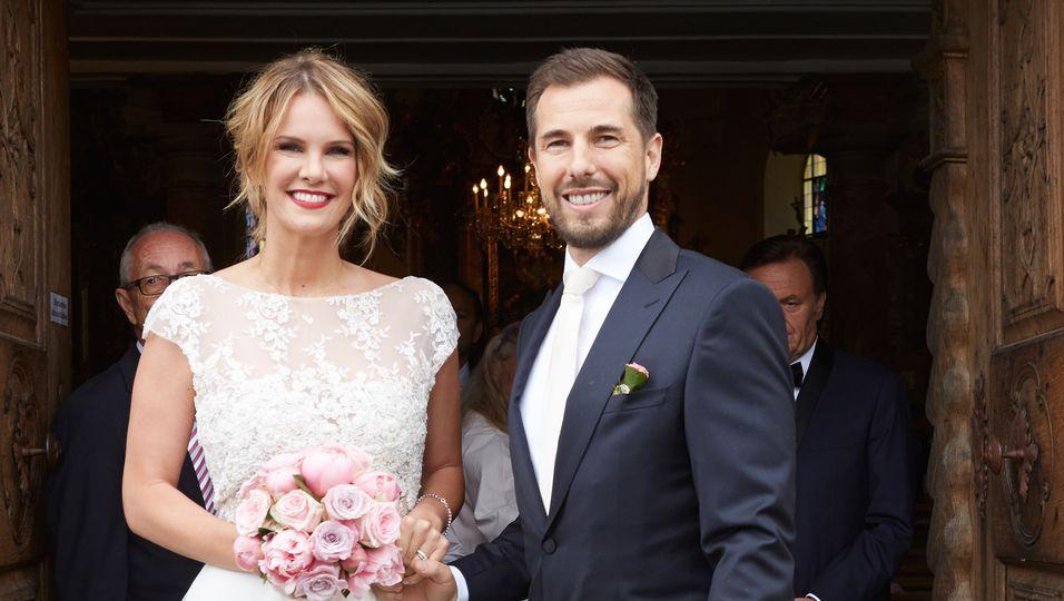 Monica Ivancan, Hochzeit, Kirche, Braut, Bräutigam, Liebe, Ehe