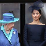 """Herzogin Meghan - """"Peinlich"""" für die Royal Family: Das fürchtete die Queen"""
