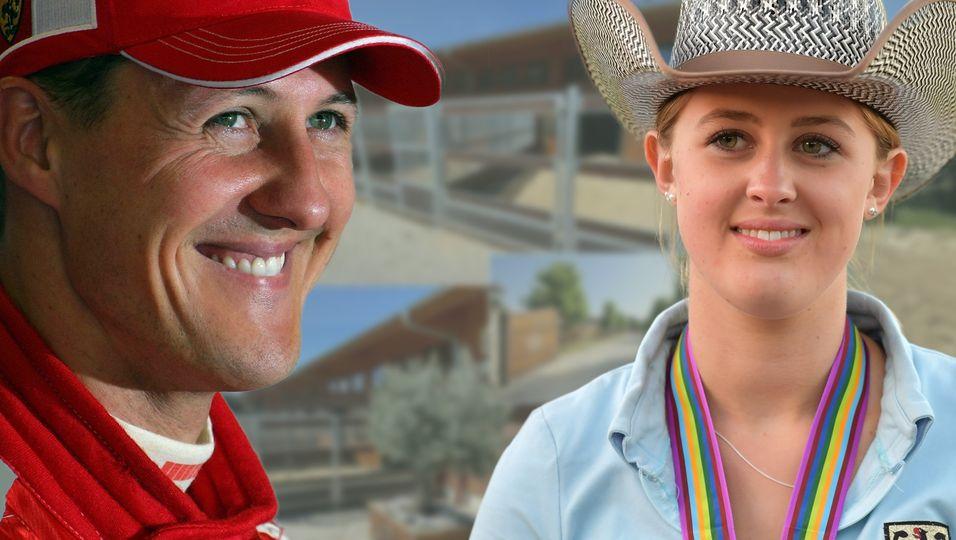 Seine Tochter Gina gewährt uns Einblick in die Familien-Ranch