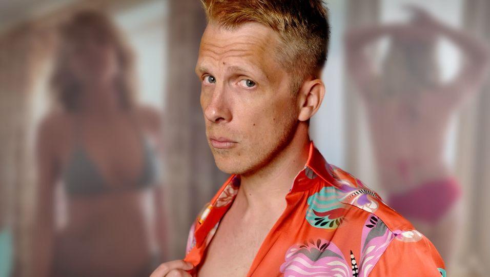Im Bikini stichelt er gegen Heidi Klum