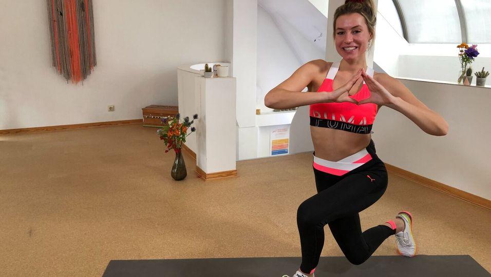 Straffe Beine mit LeaLight: 4 Minuten Tabata Workout