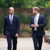 Warum kamen Harry und William nicht zur Hochzeit ihrer Cousine?