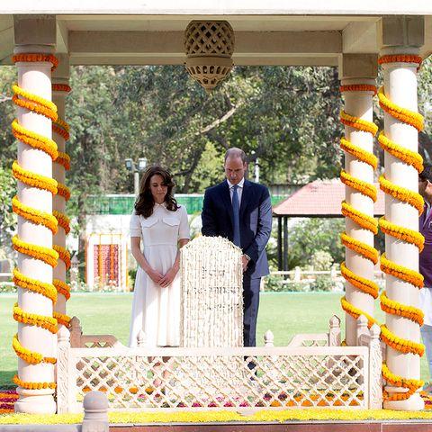 Kate und William in Indien
