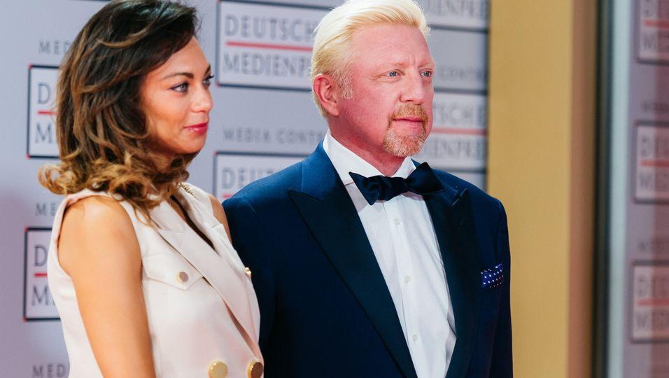 """Erster Auftritt nach dem Gerichtstermin mit Boris: """"Das Leben geht weiter"""""""
