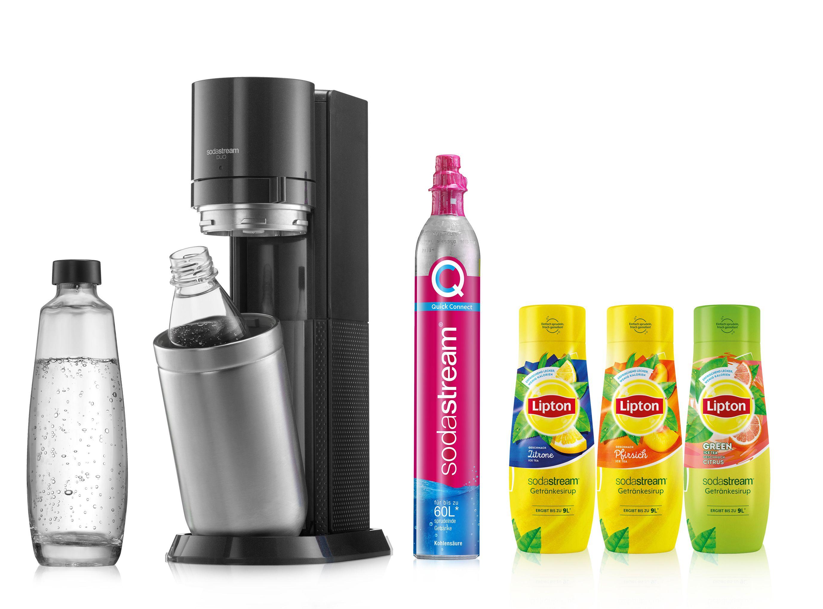 Die neuen Lipton Eistee-Sirups von SodaStream