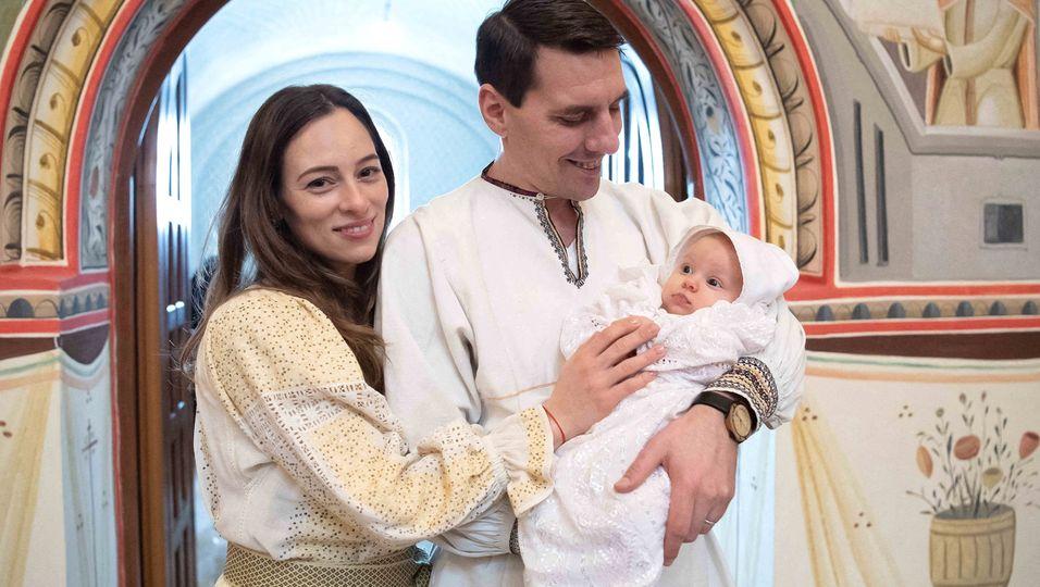 Festliche Taufe der kleinen Maria Alexandra