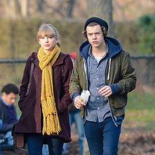 """Zuletzt datete Taylor Swift 2013 """"One Direction""""-Sänger Harry Styles.Mittlerweile geht das Paar wieder getrennte Wege."""