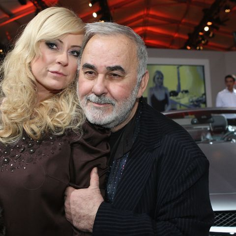 Jenny Elvers und ihr guter Freund Udo Walz