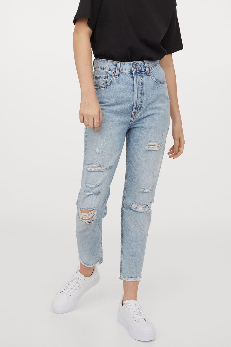 Slim Mom High Ankle Jeans von H&M