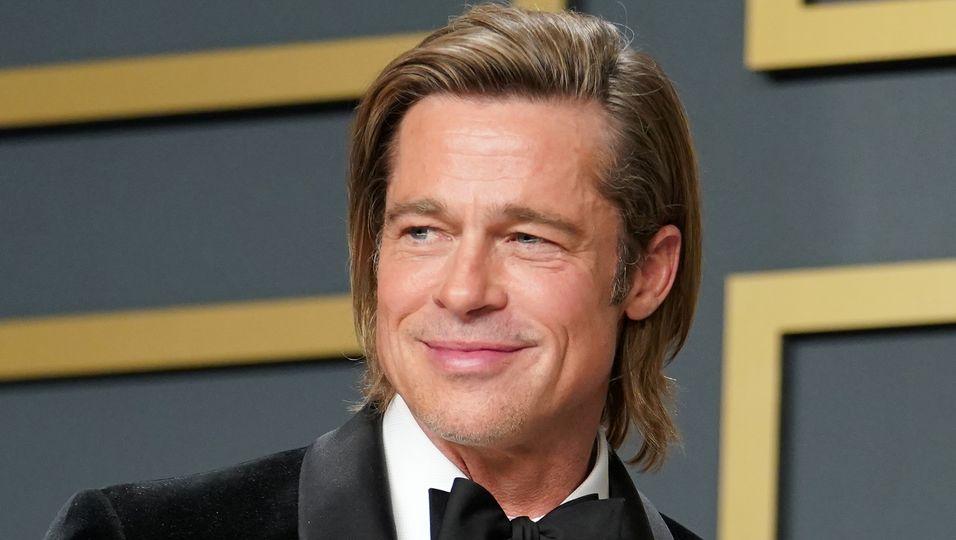 Brad Pitt, Angelina Jolie & Nicole Poturalski