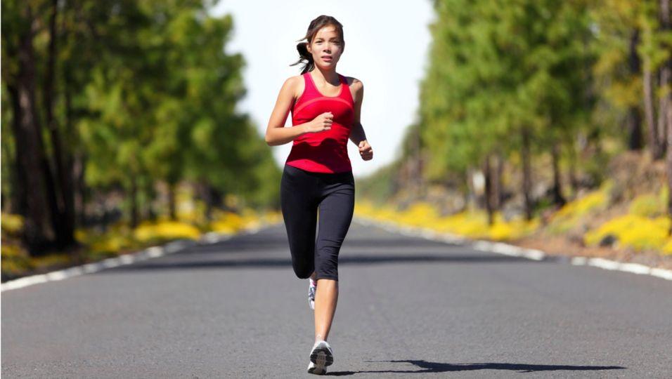 Therapie - Hilft bei Venenproblemen: Sport treiben