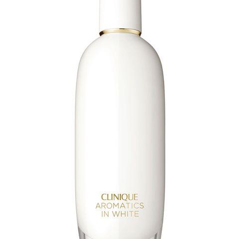"""Mit dem Duft """"Aromatics in White"""" kann sich die Beschenkte jeden Tag in einen Hauch von Luxus hüllen."""