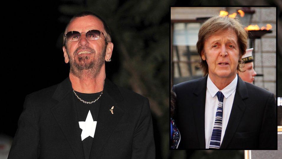 Ringo Starr - Scherze über Wiedervereinigung mit Paul McCartney