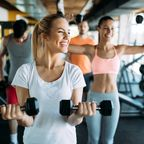 Frauen im Fitness-Studio