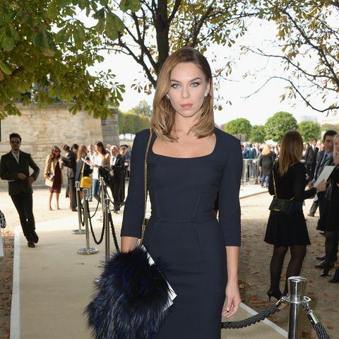 Model Liliana Matthäus beherrscht den perfekten Glamour-Auftritt!