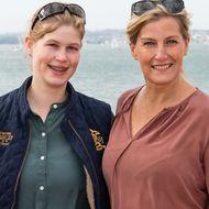 Sophie von Wessex und ihre Tochter Louise