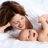 Muttergefühle, frischgebackene Mama, Baby erste Wochen