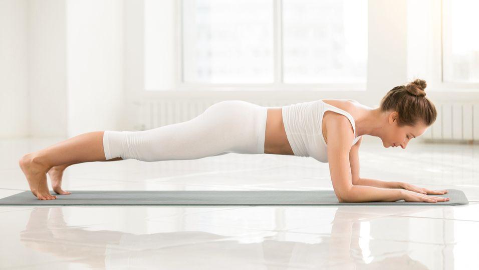 Frau-Planking