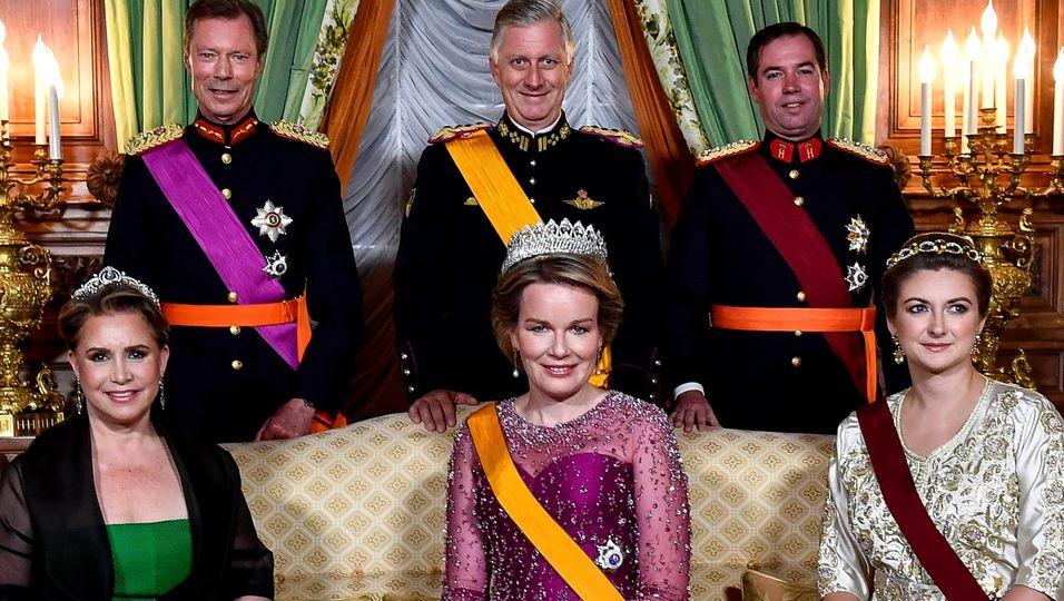 Dinner mit Luxemburgs Royals – und die Königin trumpft auf
