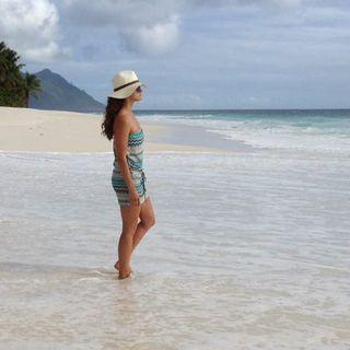 Mit diesem traumhaften Foto grüßte Madeleine Mitte Juni aus ihren Flitterwochen auf den Seychellen. Ist das Baby hier entstanden?