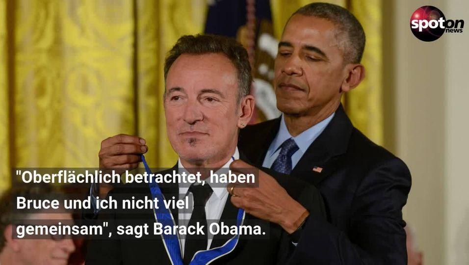 Bruce Springsteen und Barack Obama starten gemeinsamen Podcast