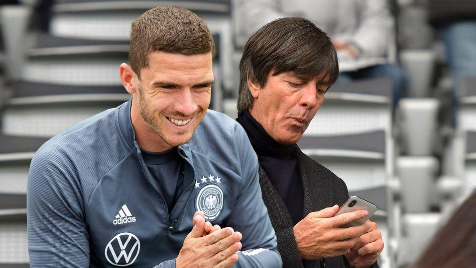 """Er hielt SMS des Bundestrainers für einen Scherz: """"So schreibt doch Joachim Löw nicht"""""""