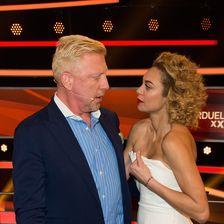 Lilly Becker, Boris Becker ('Paarduell XXL' Photo Call - Huerth)
