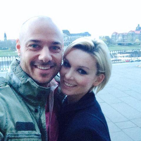 Christian und Katja in Dresden