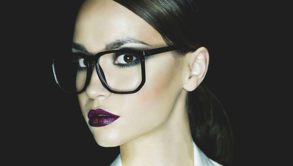 Brille, Make-Up
