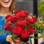 Blumentraum zum Valentinstag: Spare 15 € auf die Sträuße von Bloom&Wild
