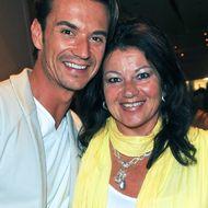Florian Silbereisen und seine Mutter Helga