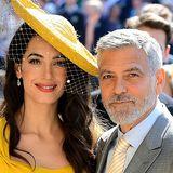 Amal & George Clooney