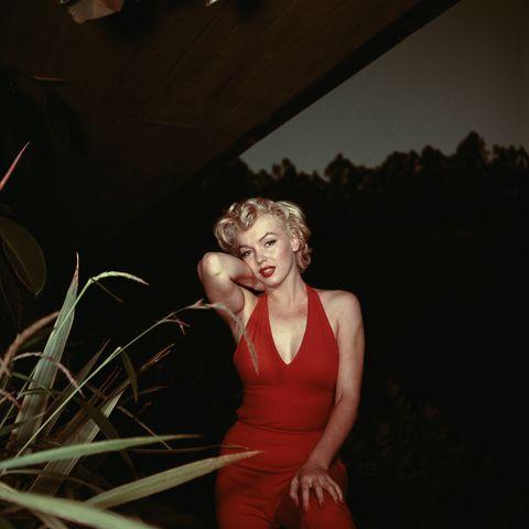 Rote Lippen: Die berühmteste Blondine aller Zeiten gilt als Mutter des verführerischen Lippenstifts.