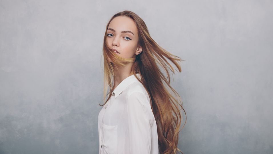 Platte Haare