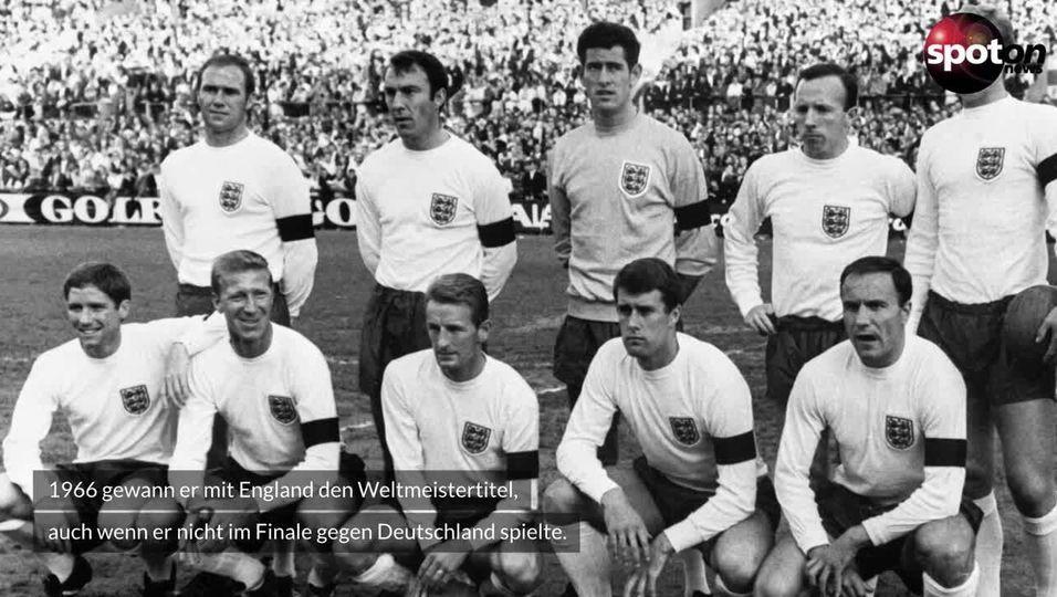Englands Fußball-Legende Jimmy Greaves ist tot