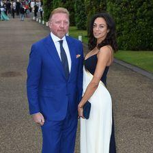 Boris Becker, Lilly Becker (Vogue & Ralph Lauren Wimbledon Party - Arrivals - London)