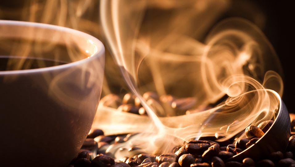 Kaffee Rauch Kaffebohne