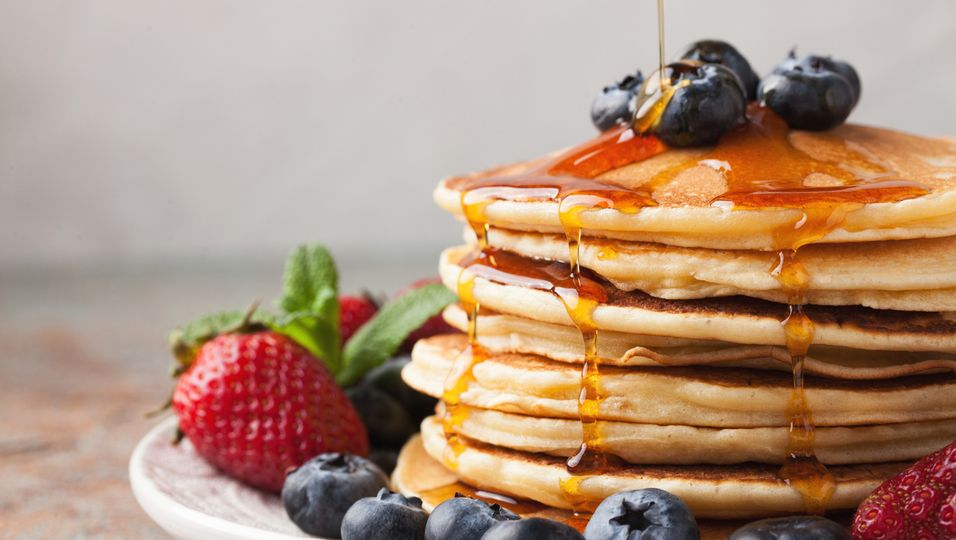 Gesunde Pancakes aus Skyr