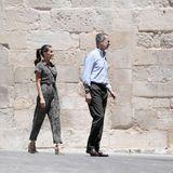 Letizia von Spanien: Sie trägt einen Overall von Mango – für unter 50 €!